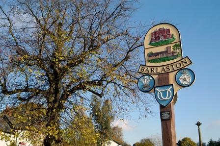 Barlaston village sign