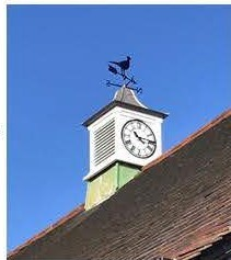 Picture of the new Village Hall Clock Tower