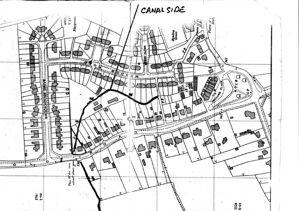 Barlaston Stream Map